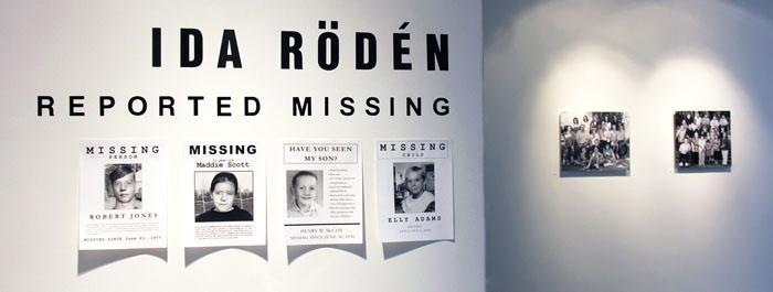 Ida Rödén: Reported Missing