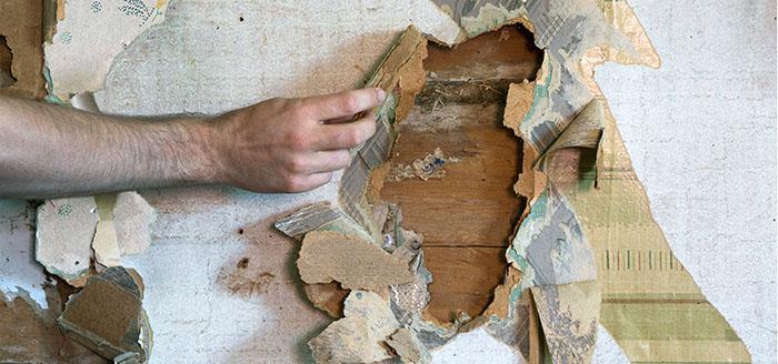 Hålet i väggen