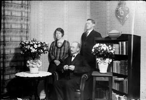 Birger Martin, Maria Brink och Jarl Knoll.