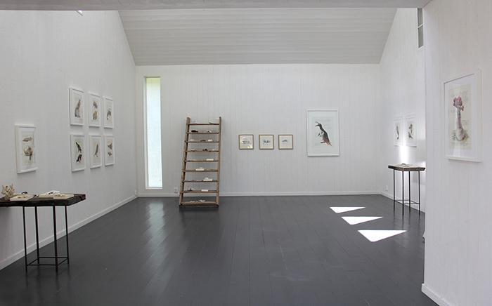 Exhibition view, Konsthall Norra Kvarken, summer 2019